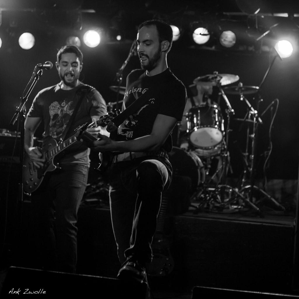 Resurrect Tomorrow Baroeg Rotterdam 02/10/2016 - Aaron Oostdijk - Hakan Aydin - Ilja Timmerman - Stephan de Regt